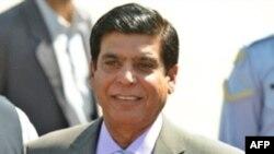 The Pakistani ruling coalition's nominee for prime minister, Raja Pervez Ashraf