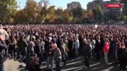 Ermənistanda etirazlar başladı