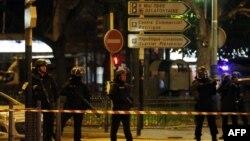 Полицейская спецоперация в районе Сен-Дени в Париже