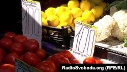 В окупованому Донецьку помідори коштують приблизно 42 гривень