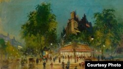 Константин Коровин. Париж (фрагмент)