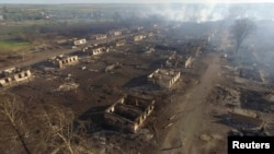 Город Канск после пожаров. Конец мая 2017 года