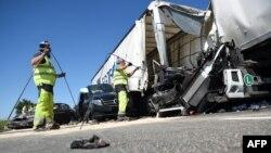 През 2017 г. на територията на ЕС при пътни инциденти са загинали около 25 хиляди души