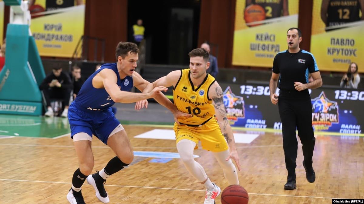 Баскетбол: «Киев-Баскет» досрочно выходит в плей-офф Кубка Европы ФИБА