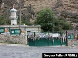 Gimrıda Şeyx Şamil ziyarətgahı