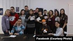 Участники проекта «Навички до життя» в «Теплице», Славянск