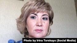 Қарағанды облысы Сарань қаласында тұратын жеке кәсіпкер Ирина Торская. Сурет оның Facebook әлеуметтік желісіндегі парағынан алынды.