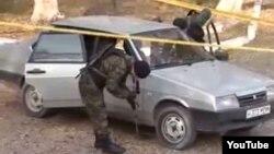 Полицијата врши увид по напад на исламисти во градот Тараз во јужен Казахстан.