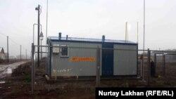 Газораспределительная станция в Алматинской области. 13 ноября 2015 года.