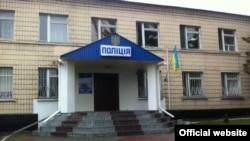 Будівля Кагарлицького відділку поліції, де імовірно двоє поліцейських катували і зґвалтували жінку