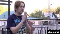 Японец Тэцуро Йошиоко. Алматы, 13 октября 2014 года.
