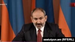 Премьер-министр Армении Никол Пашинян на пресс-конференции, 19 марта 2019 г.