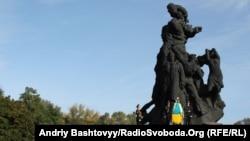 Вшанування жертв розстрілів у Бабиному Яру, Київ, 3 жовтня 2011 року