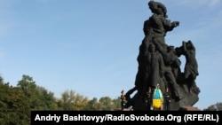 Вшанування жертв розстрілів у Бабиному яру у Києві, архівне фото