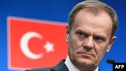 Fotografi arkivi e Presidentit të Këshillit të BE-së, Donald Tusk