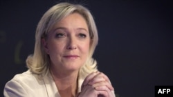 """Лидер французского """"Национального фронта"""" Марин Лё Пен"""