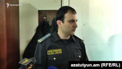 Armenia- Hayk Martirosian, a customs officer who resigned on April 10, 2019.