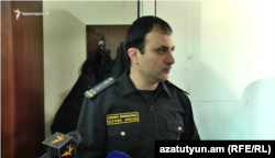 Armenian customs officer Hayk Martirosian
