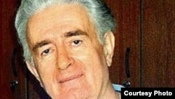 Radovan Karadzic after his arrest in Belgrade