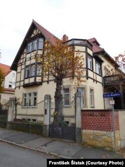 Vila u kojoj je održan IV kongres Komunističke partije Jugoslavije, Drezden