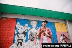 Мастак, арт-актывіст, каардынатар галерэі стрыт-арту ў Маладэчне Bazinato