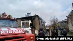 ყვარლის მუნიციპალიტეტის სოფელ გრემში საცხოვრებელი სახლი 26 ნოემბერს დაიწვა