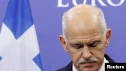 Yunanıstan hökuməti baş nazir George Papandreou