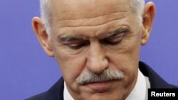 Премиерот на Грција, Јоргос Папандреу.