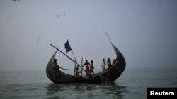 Refugjatët Rohingya në Mianmar.