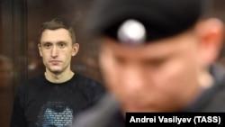Константин Котов в зале суда