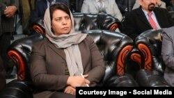 حمیرا حقمل عضو کمیسیون مستقل شکایات انتخاباتی افغانستان