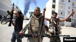 Участники ливийского сопротивления