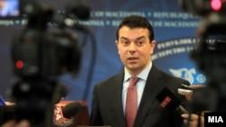 Никола Попоски, министер за надворешни работи на Македонија.