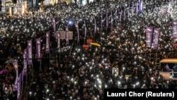 Гонконгдогу демонстрациялар. 8-декабрь, 2019-жыл.
