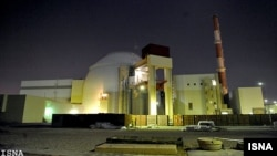 The nuclear power plant outside the city of Bushehr, in southern Iran (file photo)