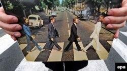 Кружэлка The Beatles са знакамітым арыгінальным фота
