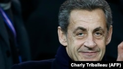 Öňki fransuz prezidenti Nikolas Sarkozi (Nicolas Sarkozy)