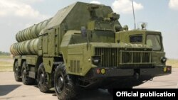 S-300 air defense system.