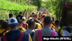 """Učesnici """"Marša mira"""" preći će 100 kilometara u znak sjećanja na žrtve genocida u Srebrenici"""