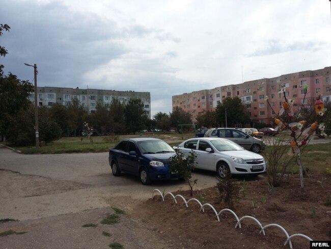 Типичный городской пейзаж Армянска