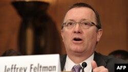 БҰҰ бас хатшысының саяси мәселелер бойынша орынбасары Джеффри Фельтман.