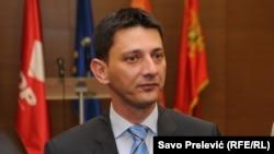 Darko Pajović predsjednik Skupštine Crne Gore