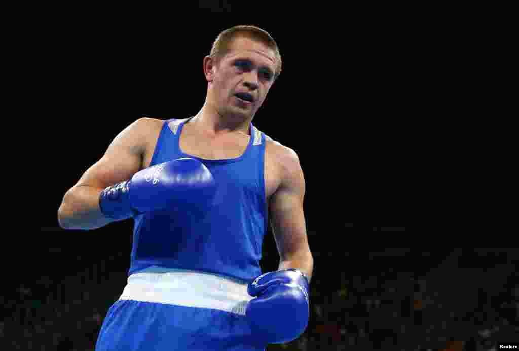 Володимир Матвійчук виступав у вазі 64 кілограми