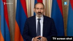 Armenia -- PM Nikol Pashinian announces his resignation, Yerevan, 16Oct2018
