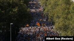 Obilježavanje dana Katalonije u Barseloni