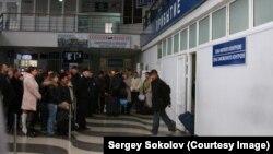 После аннексии Крыма международные рейсы в аэропорту Симферополя прекратились