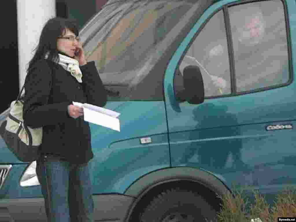 Юлия Коцкая, журналист радио «Рацыя», Минск, 27 марта 2008