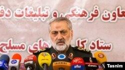 ابوالفضل شکارچی، سخنگوی ستاد نیروهای مسلح ایران