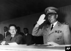 Edvard Kardelj i Josip Broz Tito, 1957.
