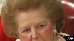 Маргатер Тэтчер, бывший премьер-министр Великобритании, фото 2008 г.